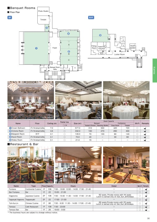 2019 / 2020 Sales Manual for Hotels in Japan -